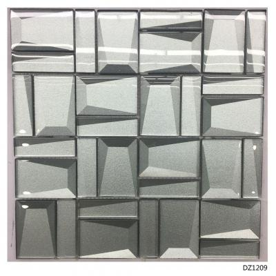 3D Beveled Glass Mosaic