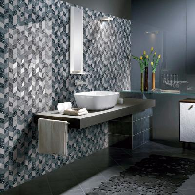 silk glass mosaic