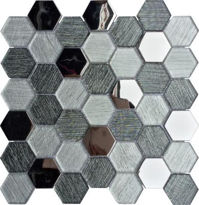 Hexagonal Design glass