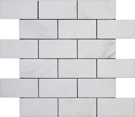 China Eastern White Marble Mosaic