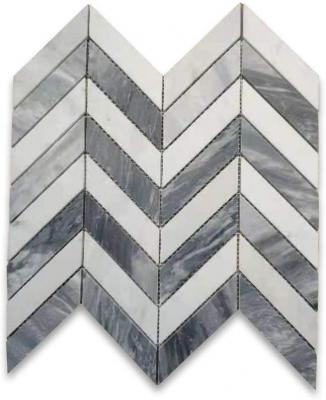 China Bardiglio Marble Mosaic tile