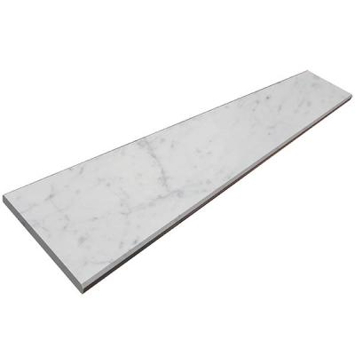 carrara marble threshold