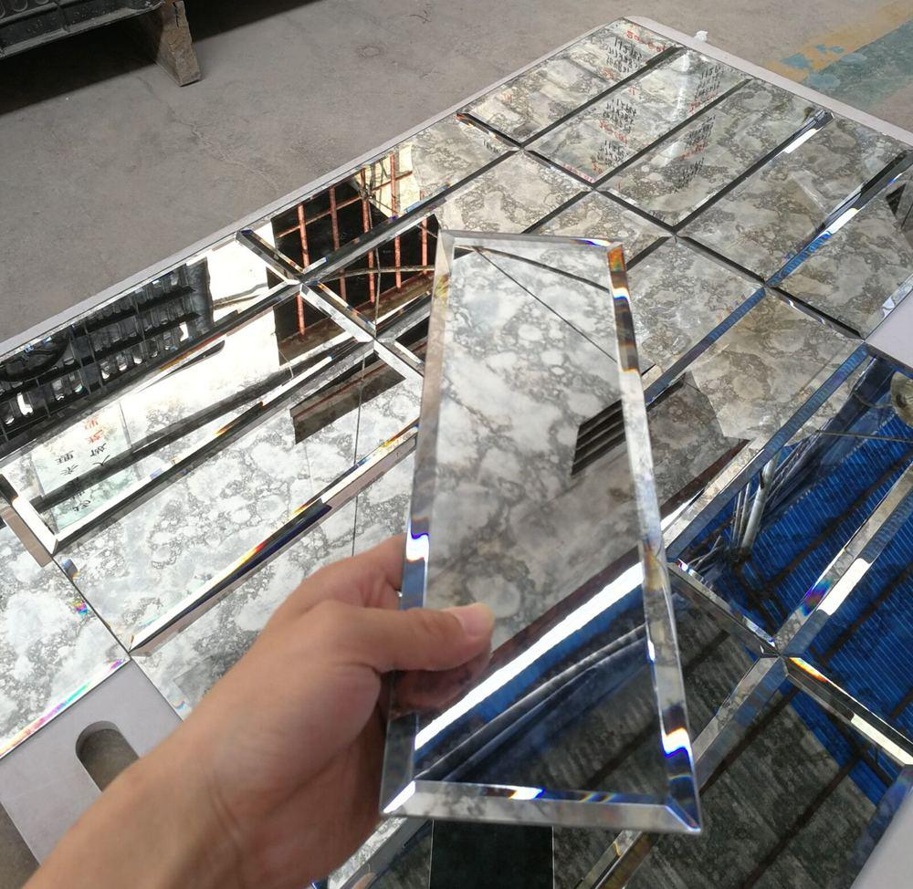 antique mirror glass tile