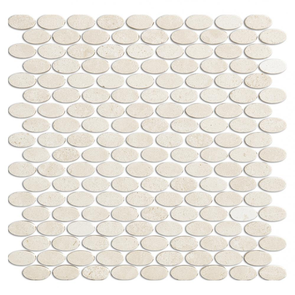 Factory  Natural Marble Mosaic Prices Oval Stone Mosaic Tile For Hotel