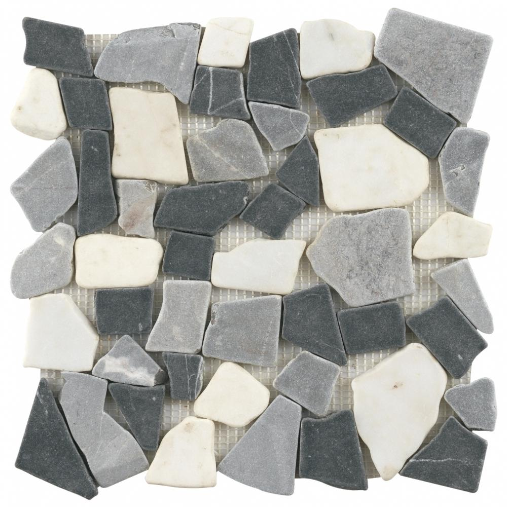 Marble mixed Penny Round Mosaic Good Price