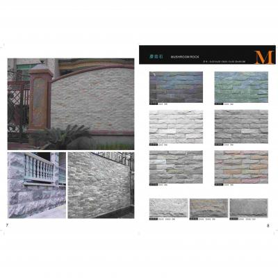 Irregular Slate Wall Cladding Tiles Natural Culture Slate Stone