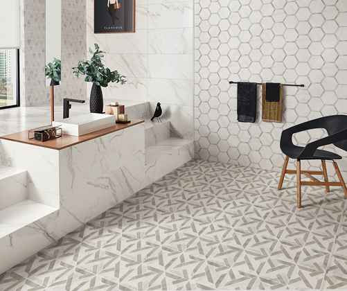 Porcelain Cutting Mosaic tile